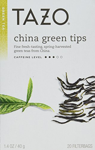 Tazo China Green Tips Green Tea - 20 count (Pack of 6)