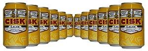 Cisk Finest Quality Maltese Lager Beer - 12 x 330ml
