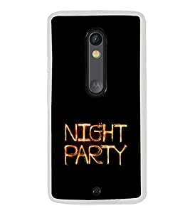 ifasho Night party Back Case Cover for Moto G3