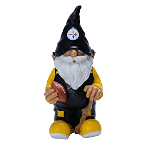 NFL Pittsburgh Steelers Garden Gnome by Forever Collectibles