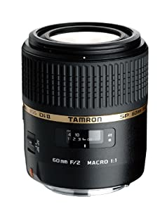 Tamron AF 60mm f/2.0 SP DI II LD IF 1:1 Macro Lens for Canon Digital SLR Cameras (Model G005E)