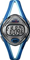 Timex Womans T5K785 Ironman Sleek 50-Lap Turquoise Resin