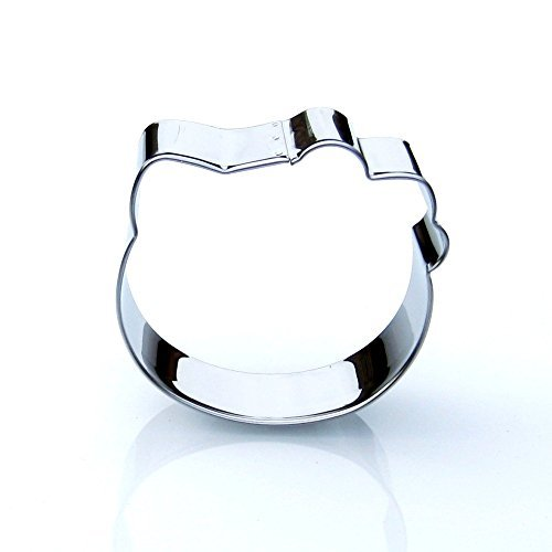 Sweet Cookie Crumbs Hello Kitty Head Cookie Cutter Stainless Steel