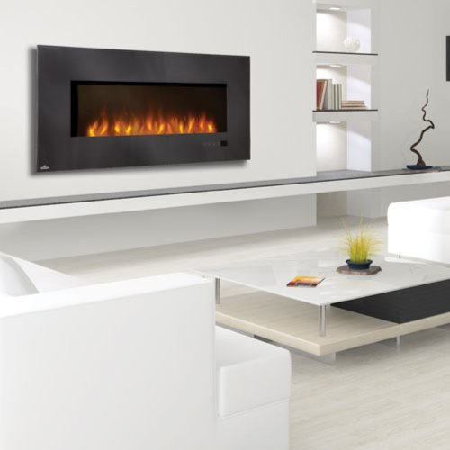 """Napoleon 48"""" Linear Wall Mount Electric Fireplace Efl48"""