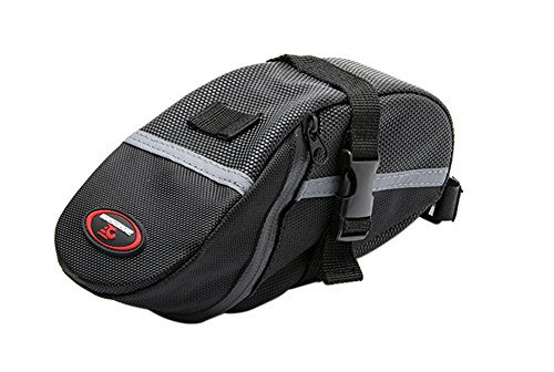 Magictodoor Wedge Pack with Buckle Reflective Trim Seat Saddle Bag Cycling Tool & Tire Pack RB01