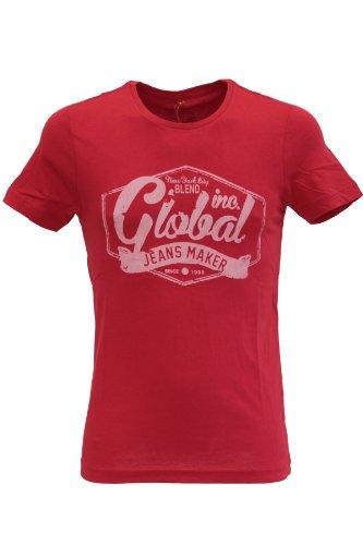 Blend of America -  T-shirt - T-shirt  - Maniche corte  - Uomo rosso X-Large
