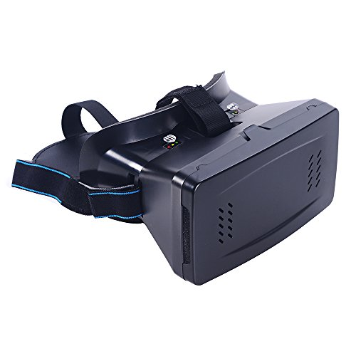 "Andoer Portable Head-Mounted Google Cardboard Version 3D VR Glasses Virtual Reality DIY 3D VR Video with Magnetic Switch Movie Game 3D Glasses with CSY-01 Mini Multifunctional Wireless Bluetooth V3.0 Selfie Camera Shutter Gamepad for iPhone Samsung / All 3.5 ~ 6.0"" Smart Phones"
