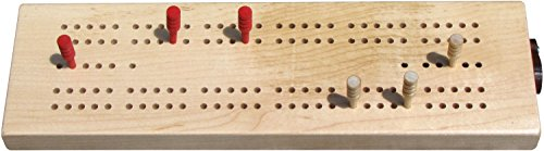 Standard Cribbage Board - Made in USA