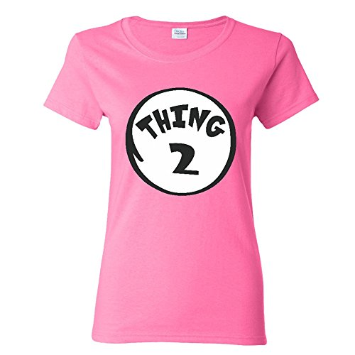 Thing 2 Women T-shirt Halloween Ladies top