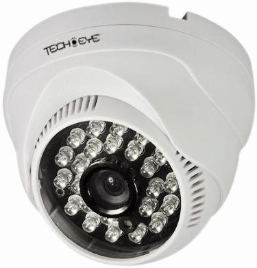 Techeye TE480IRVT 480TVL IR Dome CCTV Camera
