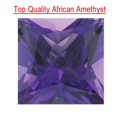 1.42 Cts of 7 mm Princess Loose Amethyst ( 1
