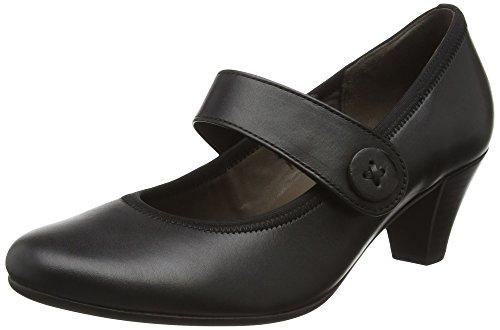 Gabor Shoes Basic, Scarpe con Tacco Donna, Nero (Schwarz 27), 43 EU