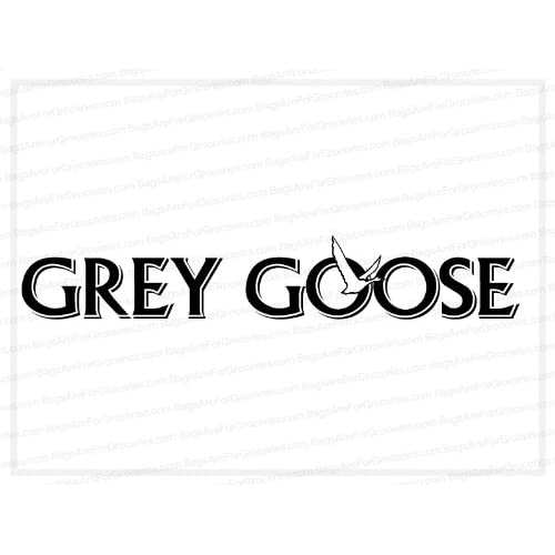 "Amazon.com: (2x) 5"" Grey Goose Logo Sticker Logo Sticker Vinyl Decal"