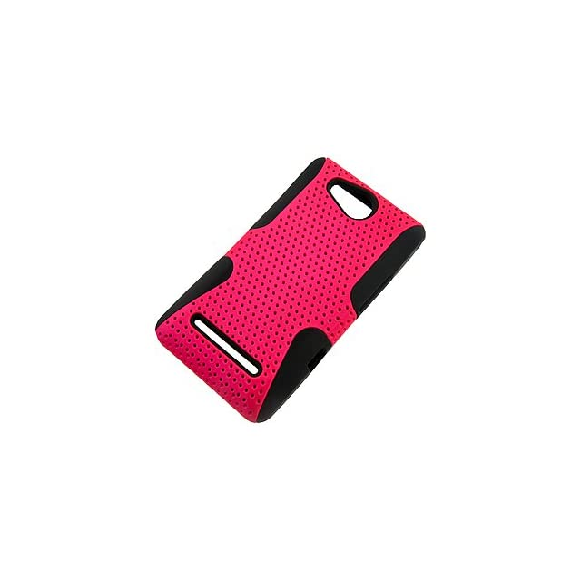Apex Hybrid Case for LG Lucid VS840, Hot Pink & Black