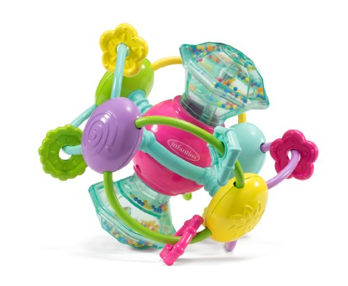 Infantino Discovery Gem Activity Ball - 1