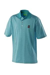 PGA Tour Miami Polo pour homme Turq Small