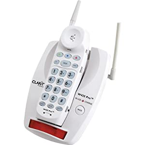 Clarity Professional W425 Pro Extra Loud Big Button Cordless Telephone - CL4418