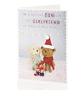 Anthony Bear Christmas Card