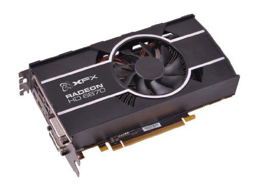 XFX ATI Radeon HD 6870 HD-687A-ZHFC Graphics Card 1 GB PCI-e GDDR5 Memory DVI HDMI 1 GPU