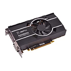 XFX AMD Radeon HD 6870 900M 1 GB DDR5 DUAL MINIDP HDMI DUAL DVI PCI-E Video Card (HD687AZHFC)