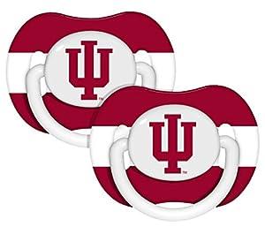 Buy NCAA Indiana Hoosiers 2 Pack Pacifier by BaFanatic