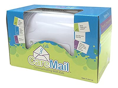 Conversation and Discussion Starter Game for Kids - CareMail Mailbox - Ages 5-8