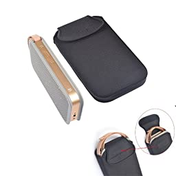 Pashion Lightweight & Slim Fit Water-Resistant Lycra Carrying Case Bag Portable Travel Case cover protective bag for B&O BeoPlay A2 Bluetooth Speaker