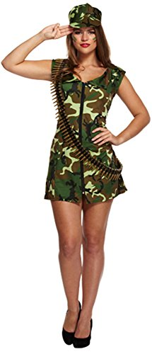 TrendyFashion -  Costume - Donna Army Lady Outfit XL