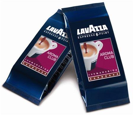 Lavazza 0470 Espresso Point Cartridges, Aroma Club 100% Arabica Blend, .25 Oz, 100/Box