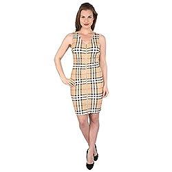 Tenn Women's Mini Dress (CRBKCD11NSXS_X-Large_Multi)