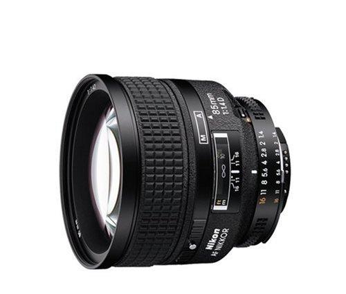 Nikon AF NIKKOR 85mm f/1.4D Lens