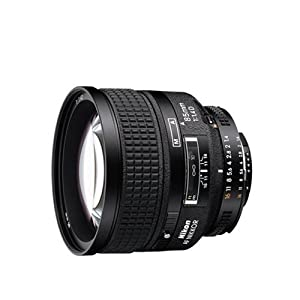Nikon 85mm f/1.4D AF Nikkor Lens for Nikon Digital SLR Cameras