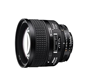 Nikon 85mm f/1.4D AF Nikkor Lens for Nikon Digital SLR Cameras