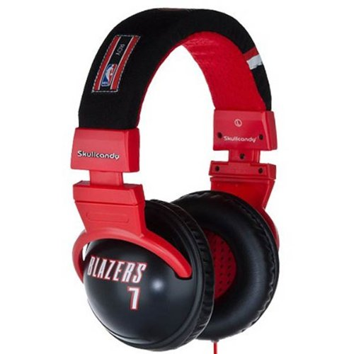 Skullcandy Brandon Roy Portland Trail Blazers #7 Black Hesh Over-Ear Headphones