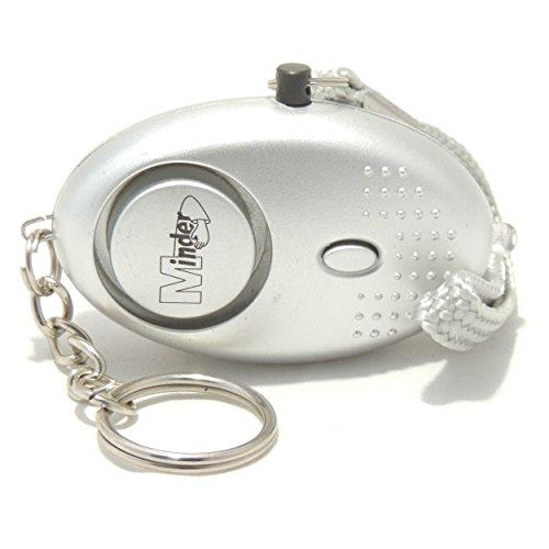EPOSGEAR-Schlsselanhnger-Taschenlampe-und-Mini-Alarm-mit-140db-Sirene-Silber