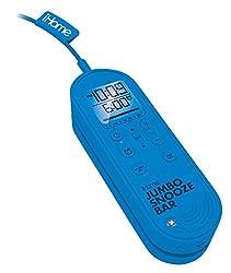 iHome IM14LC Jumbo Snooze Bar Alarm Clock with USB Charging