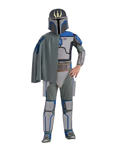 Star Wars The Clone Wars, Child's Deluxe Costume And Mask, Pre Vizsla Costume