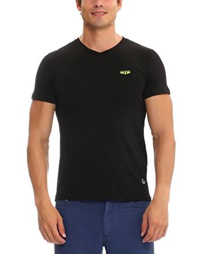 Galvanni T-Shirt Manica Corta Audio [Nero]