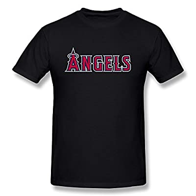 LLangla Men's Los Angeles Angels Of Anaheim Baseball Team T Shirt