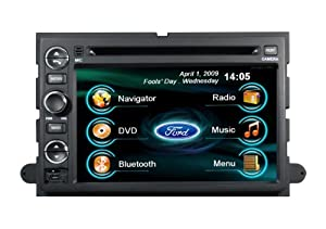 2004 05 06 Ford F150 F250 F350 Explorer Mustang DVD GPS Navigation in Dash Stereo
