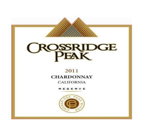 2011 Crossridge Peak Chardonnay Reserve, California 750 Ml
