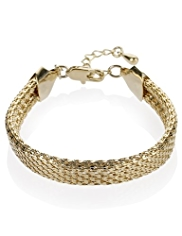 M&S Collection Gold Plated Clasp Fastening Bracelet