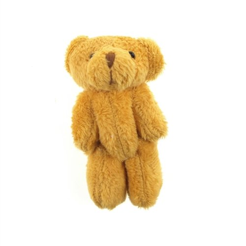 firefly-imports-fcfb11058brn-03x-miniature-jointed-brown-teddy-bear-3-pack-brown