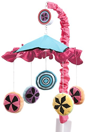One Grace Place Magical Michayla Mobile, Pink and Turquoise