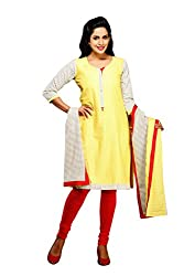 Maybell Women's Kurta (K7420115_Yellow_X-Large)