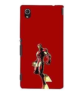 EPICCASE Ironman Mobile Back Case Cover For Sony Xperia M4 Aqua Dual (Designer Case)