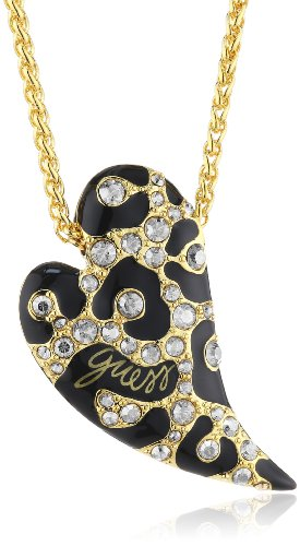 Guess UBN70201 - Collier da donna con cristallo Swarovski, acciaio inossidabile e smalto, 450 mm