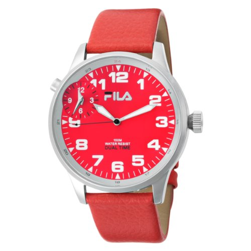 Fila Men's 404-04 3 Hands Dual Time Commuter Watch