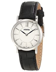 Roamer of Switzerland Women's 934857 41 25 09 Limelight 28mm White Dial Black Leather Watch