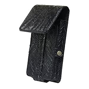 Jo Jo A6 Bali Series Leather Pouch Holster Case For Micromax A56 Black
